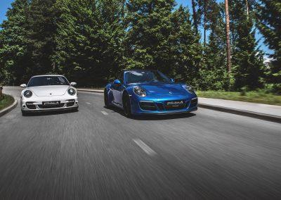 Porsche 911 turbo & 911 GTS