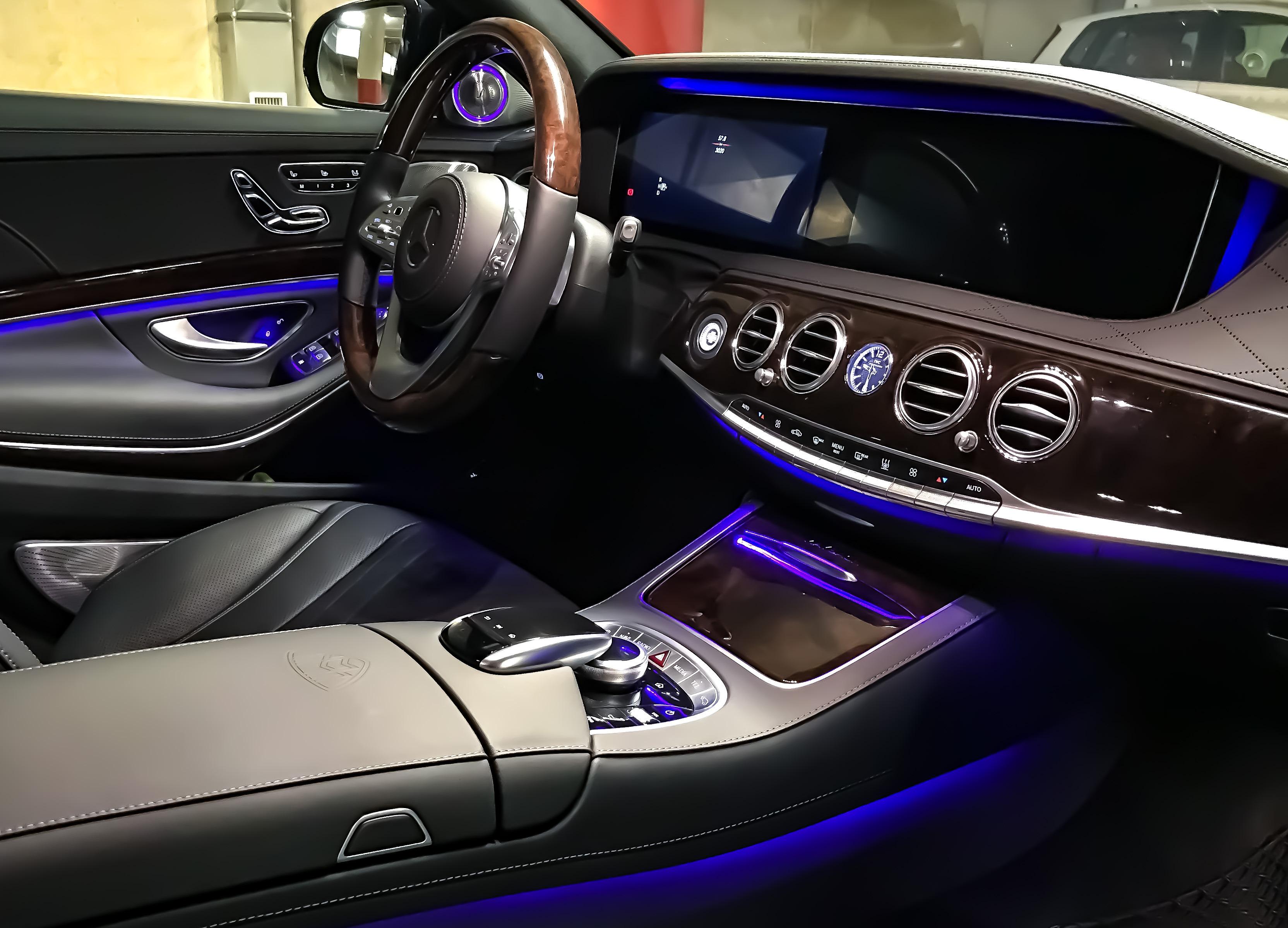 Maybach furlantech for Mercedes benz maybach interior