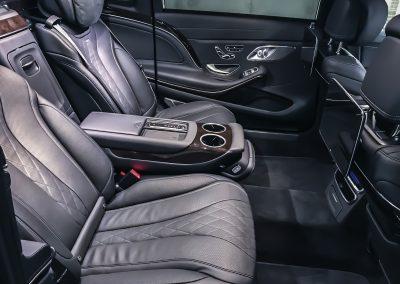Mercedes-Benz S650 Maybach interior